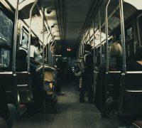 bus turistico Zaragoza nocturno
